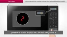 microondas no funciona el bot 243 n de encendido - Microondas No Funciona