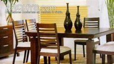 comedores modernos de madera y vidrio - Comedores De Madera Modernos Precios