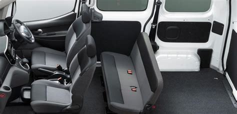 nissan nv200 van interior picture view photo seats