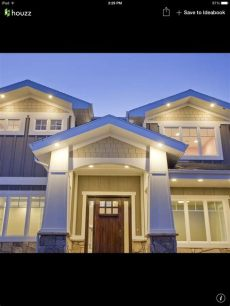 outdoor under eave lighting windows and eaves lighting in 2019 traditional exterior craftsman front porches
