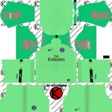 dls 19 kit psg goalkeeper germain psg 2018 19 kit league soccer kits kuchalana