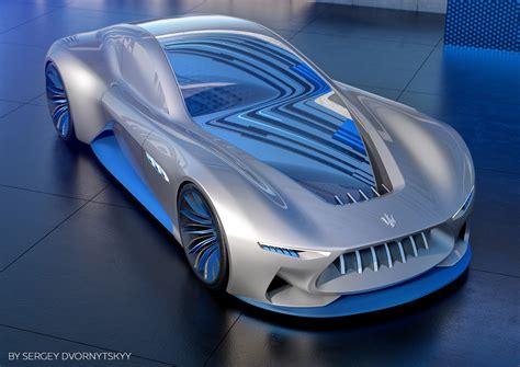 maserati genesi concept stellar dream supercar