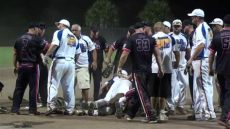 utrip slow pitch softball tournaments 2013 usssa b world tournament bench clearing brawl