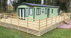 caravan veranda kits static caravan verandas decking woodcraft verandas ltd