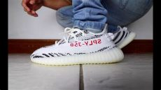 350 v2 zebra on feet adidas yeezy 350 v2 quot zebra quot review on