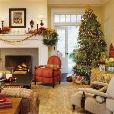 salas pequenas decoradas navidenas im 225 genes de salas navide 241 as
