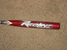 easton redline softball bat easton redline sx370 34 quot 26 oz slowpitch softball bat 2 1 4 barrel and silver with black grip