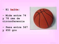 tema10 baloncesto - Balon De Basquetbol Caracteristicas