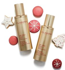 clarins shaping facial lift duo clarins wants you to a merry with these sweet treats lipstiq
