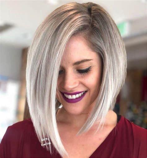 7 glamorous asymmetrical bob hairstyles 2019 alvinology