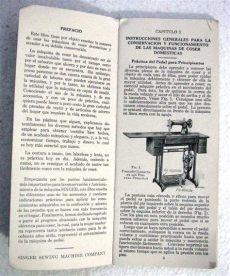 antiguo manual maquina coser singer 15 instrucciones uso 590 00 en mercado libre - Manual De Instrucciones De Maquina De Coser Singer Facilita 972