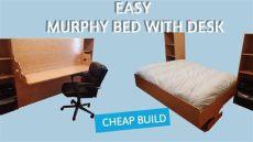 diy murphy bed desk plans diy murphy bed desk combo plans