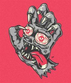 screaming hand stencil screaming on behance dibujos a l 225 piz ilustraciones