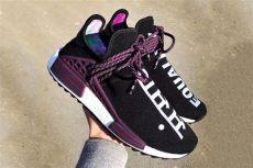 equal measures pharrell x adidas originals hu nmd trail holi the drop date - Nmd X Pharrell Williams Holi