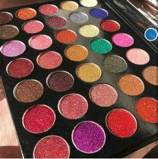 paleta kara 17 paleta sombra kara sombras kara glitter 550 00 en mercado libre - Paleta De Glitters Kara