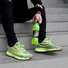 yeezy 350 v2 semi frozen yellow on foot adidas yeezy boost 350 v2 semi frozen yellow yeezy yeezy yeezy boost 350