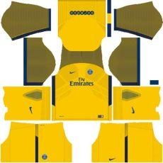 kit dls psg 2018 kuchalana kit psg 2018 novo uniforme para dls 17 league soccer shyz476
