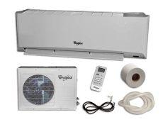 minisplit de 2 toneladas precio minisplit 1 ton 220v frio calor blanco whirlpool sust wa4023q wa4025q redhogar