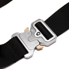 alyx belt black alyx alyx big metal buckle belt black 11050523 italist