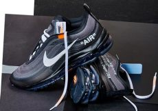 white air max 97 black official release date sneakernews - Nike Off White Air Max 97 Black Release