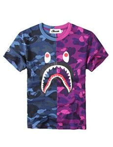 bape shirt - Baby Blue Bape Shirt