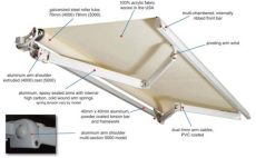features diy retractable awnings - Retractable Awning Replacement Parts