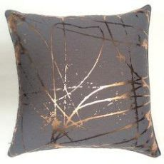 blush grey copper cushions scratchy copper cushion cover copper bedroom copper living room copper cushions