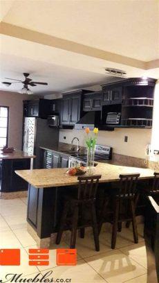 desayunadores de cocina muebles 37 best muebles de cocina con desayunador images on kitchen units kitchen ideas and
