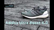 adidas ultra boost 40 grey on feet adidas ultra boost 4 0 grey four hi res green unboxing on fashion shoes 2018 4k