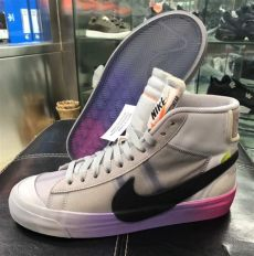 white nike blazer the aa3832 002 release date sbd - Off White X Nike Blazer Queen