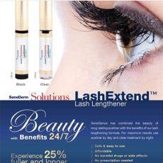 senegence black lash extend senegence lash extend in black or clear from s closet on poshmark