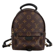 louis vuitton backpack price mini louis vuitton palm springs mini 7373 brown canvas backpack tradesy