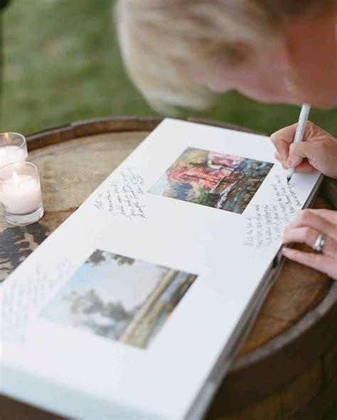 46 guest books real weddings martha stewart weddings