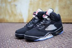 nike air jordan 5 black metallic nike air 5 og black metallic silver 2016 sneaker bar detroit