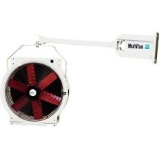 vostermans multifan vostermans multifan 16in truck dock circulator fan with mounting arm and stirrup 1 4 hp