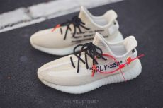 off white x adidas yeezy boost 350 v2 customs these white x adidas yeezy boost 350 v2 customs are the sole supplier