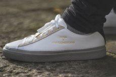 puma x han kjobenhavn suede x han kjobenhavn clyde stitched sneakers i m