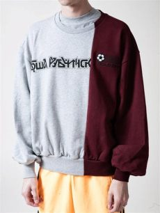 gosha rubchinskiy combo logo buy gosha rubchinskiy combo logo sweatshirt at union los angeles