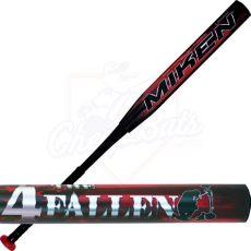 cheap slow pitch bats 2015 miken 4 the fallen slowpitch softball bat balanced usssa 4fateu