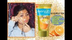 sooae face mask review everyuth golden glow peel mask with 24 karat gold review gold mask for instant glowing