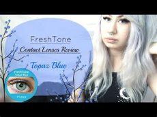 review topaz blue freshtone contact lenses - Freshtone Contact Lenses Review