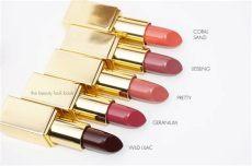 aerin rose balm lipstick swatches aerin balm lipsticks my picks the look book