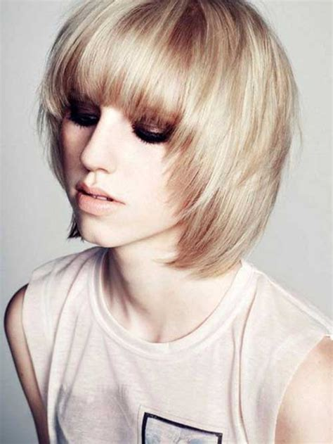 bob hairstyles bangs thin hair short hairstyles women
