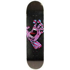 santa cruz screaming hand deck santa screaming deck 8 25 forty two skateboard shop