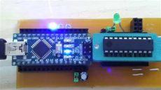 attiny2313 arduino board arduino as attiny programmer