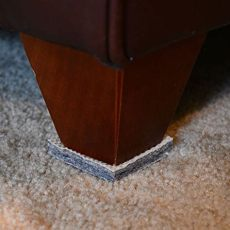 pads to stop furniture from moving dura grip non slip gripper pads stop furniture from sliding on carpet no sticky mess 3 inch