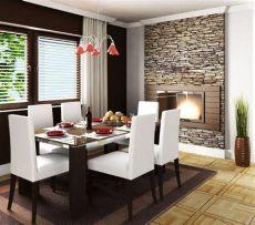 salas y comedores modernas para espacios pequenos decoraci 243 n de comedores peque 241 os truquiconsejos para aprovechar el espacio muros de piedra