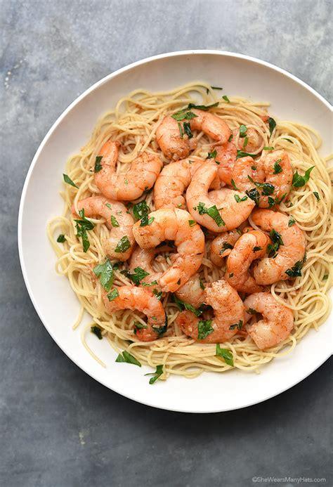easy shrimp sci recipe wears hats