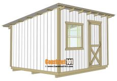 building a 10x12 lean to shed 10x12 lean to shed plans construct101