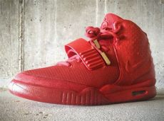 kanye west nike air yeezy red october nike air yeezy 2 quot october quot customs by mache freshness mag